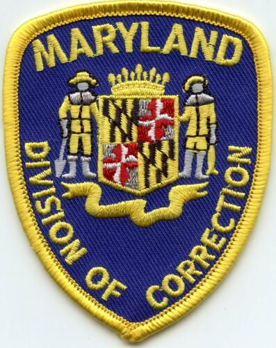 MARYLAND MD STATE DEPARTMENT OF CORRECTIONS DOC Small sheriff police PATCH