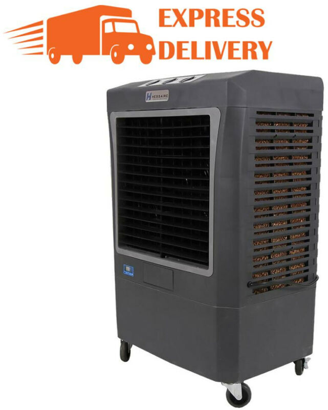 Swamp Cooler Evaporative Air Portable Commercial Fan 3100 CFM 3-Speed 950 sq ft