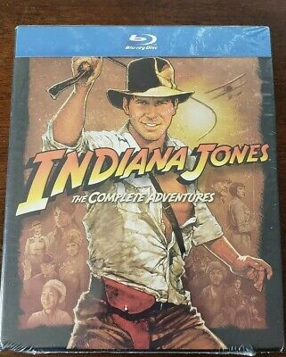 Indiana Jones: The Complete Adventures [New Blu-ray] Boxed Set, Gift Set