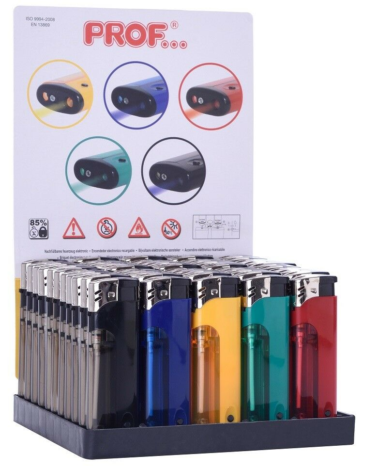 10 - 50 Sturm Feuerzeug in Farbe Turbo Flamme Wind Gas Brenner bunt nachfüllbar