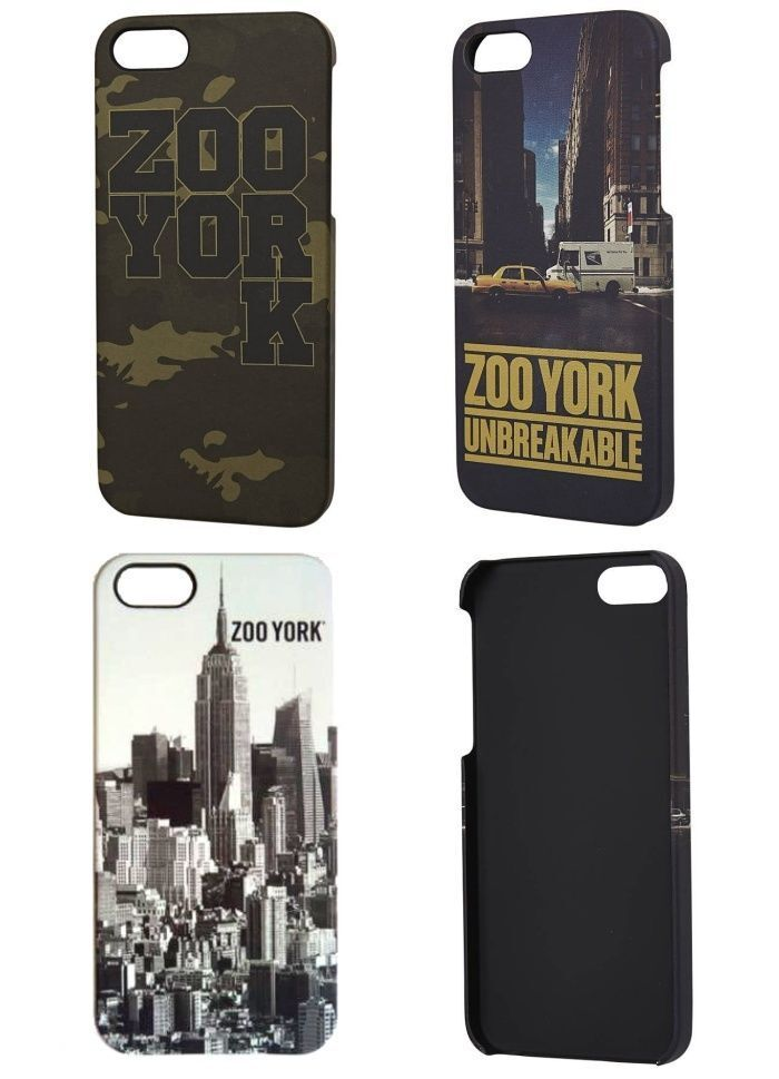 Zoo York iPHONE 5 Case Cover Up Skate Hip Zooyork FREE POST 30 DAY RETURNS NEW