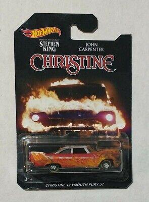 Custom HW hot wheels Christine car burned
