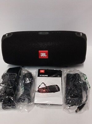JBL Xtreme Splashproof Portable Wireless Bluetooth Premium Speaker - Black