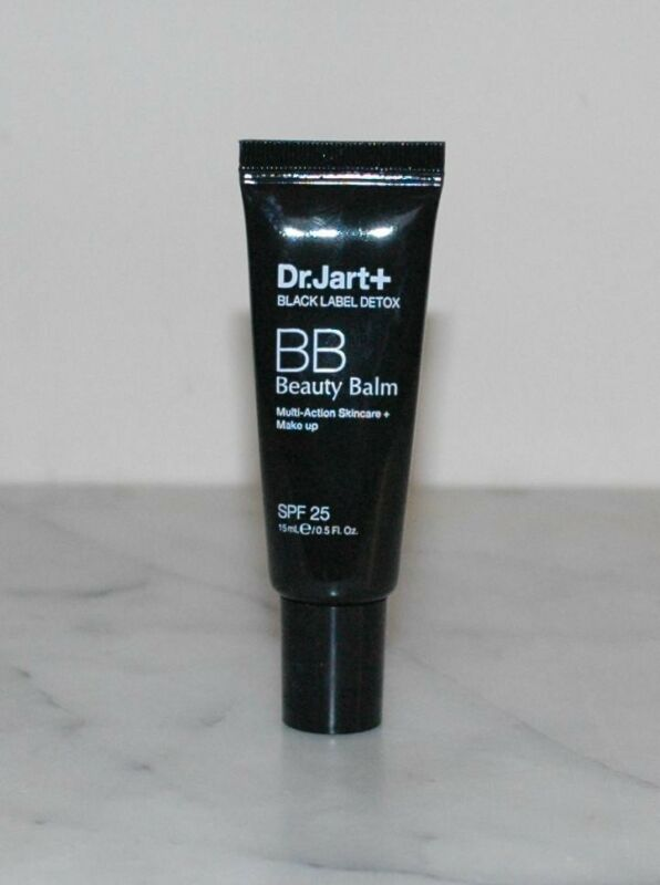 Dr. Jart+ Black Label Detox BB Beauty Balm Multi-Action SPF 25 Make Up .5oz/15ml