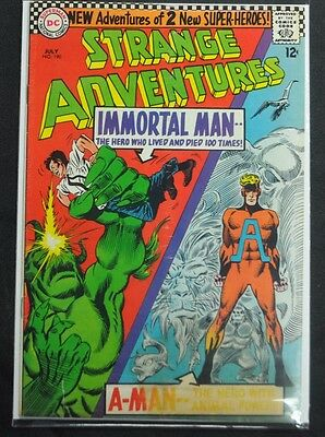 STRANGE ADVENTURES #190 - 1ST ANIMAL MAN IN COSTUME - 1966 (5.5) - Animal Man Costume