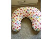 Baby girls feeding pillow.
