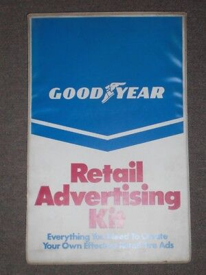 Goodyear Tire   Rubber Co  1987 Retail Advertising Kit