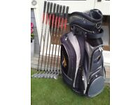 Full set of clubs in great condition
