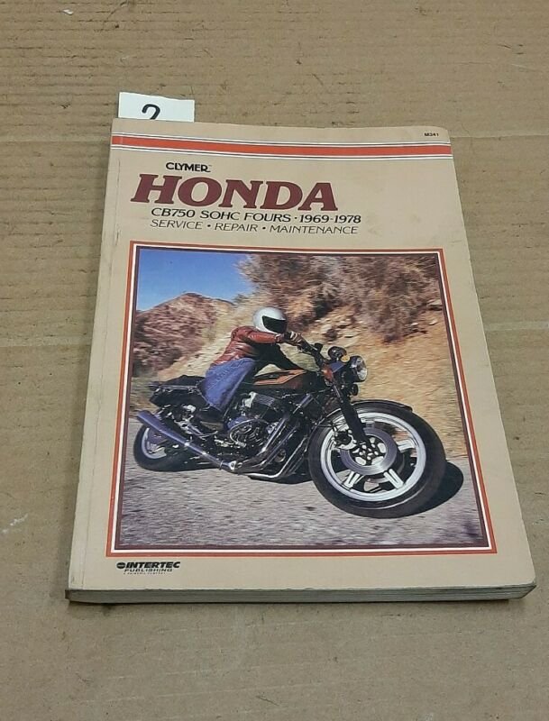 Honda cb750 sohc 1969 - 1978 workshop  manual   project