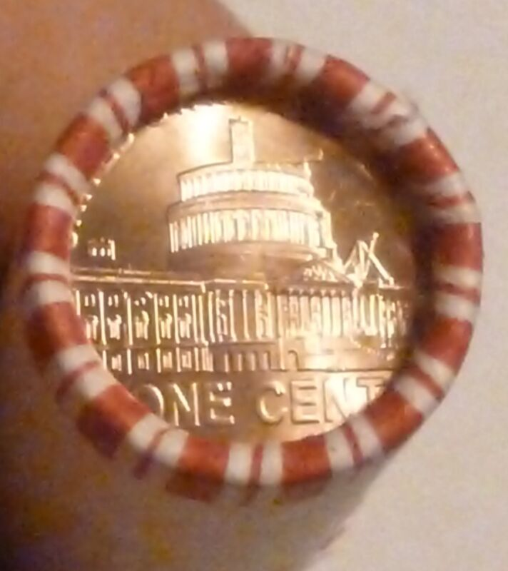 2009D PRESIDENCY LINCOLN CENT UNCIRCULATED ORIGINAL PENNY ROLL N.F. STRING