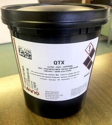 Ulano Qtx Photopolymer Emulsion For Screen Printing- Quart