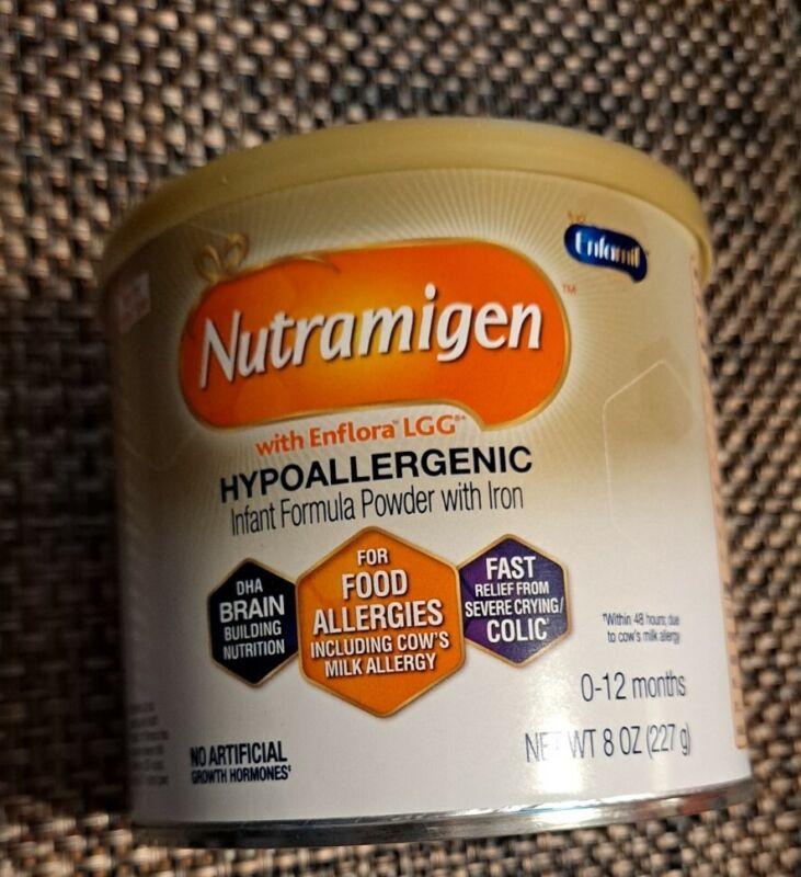Nutramigen Hypoallergenic Powder Infant Formula 8 oz Exp. 06/2023 New