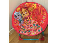 Girls chair good condition.