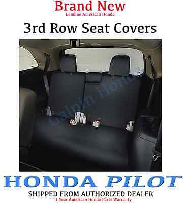 Genuine OEM Honda Pilot 3rd Third Row Seat Cover 2016- 2019  (08P32-TG7-110D) (3rd Row Seat Cover)