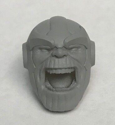 Marvel Legends ML 1:12 Custom Sculpted Thanos Head Resin Cast