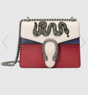 Gucci Bag Original Dionysus Embroidered Leather
