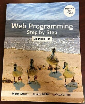 Web Programming Step by Step Paperback 2nd edition Jessica Miller Victoria