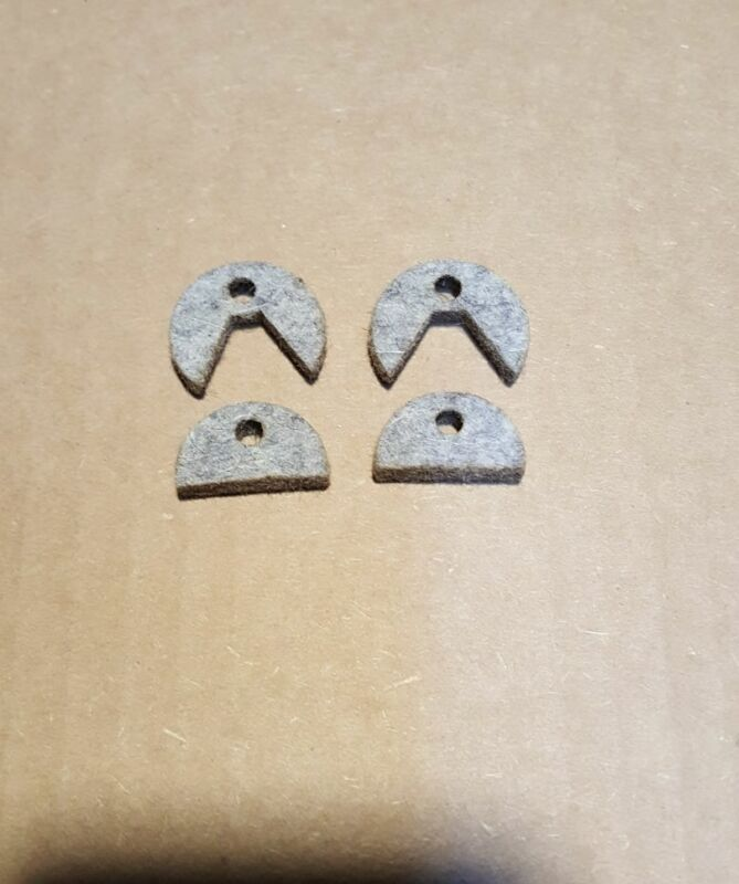 """Metal Lathe Way Felt Wiper Set for Clausing Bed 10"""" 12"""" 14""""  DL-434 & 938-004"""