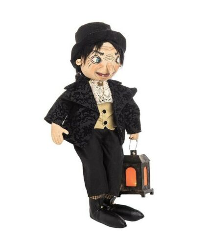 "Edgerton Vampire Boy  20"" Doll Joe Spencer Halloween Gathered Traditions New"