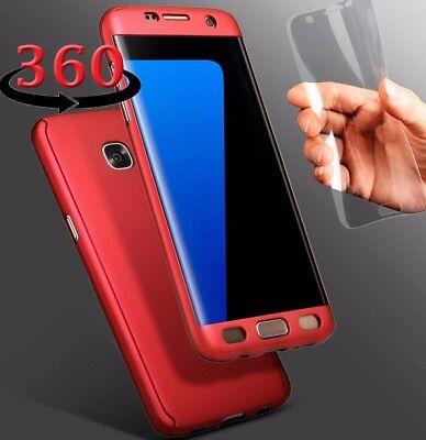 Caso 360 Tampa Cobir Protetor Com Protetor De Tela Para Samsung S7   S7 Edge