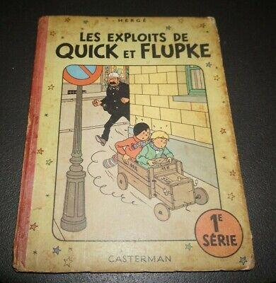 Les exploits de Quick et Flupke 1e série (1949 - 1ste druk)
