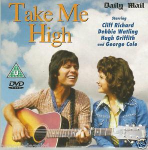 TAKE ME HIGH - CLIFF RICHARD - DAILY MAIL PROMO DVD - 87mins - 1973 FREE POST