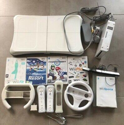 Nintendo Wii White Console Bundle - Used