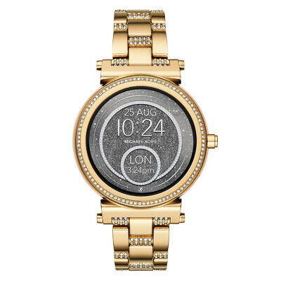 Michael Kors Access Sofie Touchscreen Smartwatch with Google, 42mm - Gold