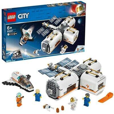 LEGO CITY STAZIONE SPAZIALE LUNARE AVVENTURE NELLO SPAZIO DAI 6 ANNI IN SU