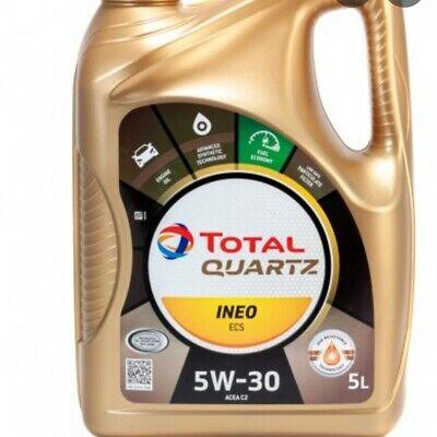 ACEITE MOTOR TOTAL 5W30 INEO ECS C2 5 LITROS 100% SINTETICO LONGLIFE...