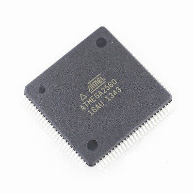 2pcs New Atmega2560 Atmega2560-16au Tqfp-100 Atmel Chip Ic