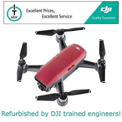 DJI SPARK Mini Drone - 12MP Camera 1080P HD WIFI Quadcopter - Lava Red - UK