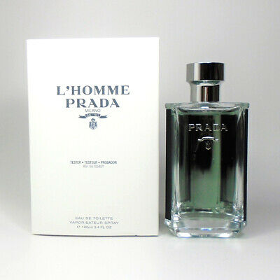 L'Homme Prada Milano by Prada Eau de Toilette for Men 3.4oz/100 ml *NEW TST BOX*