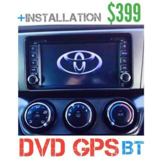 •TOYOTA CAMERA GPS+INSTALLATION /HIACE-HILUX-COROLA-RAV4-Kluger+