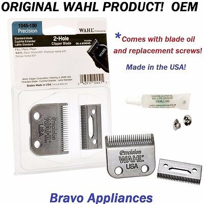WAHL # 1045-100 REPLACEMENT BLADE SET PRO 2 HOLE PRECISION CLIPPER BLADE NEW ()