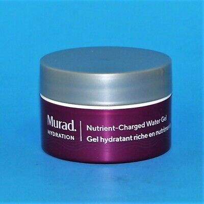 TRAVEL SIZE NEW NO BOX* MURAD HYDRATION NUTRIENT CHARGED WATER GEL 15ml / 0.5oz (0.5 Ounce Water)