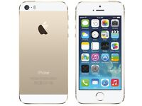 Apple Iphone 5S - 16 GB - Gold - On Vodafone UK - With Cover