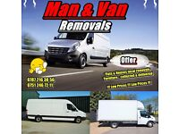 Man & Van / Removal Service / Luton Van / Sprinter Lwb / Fully Insured