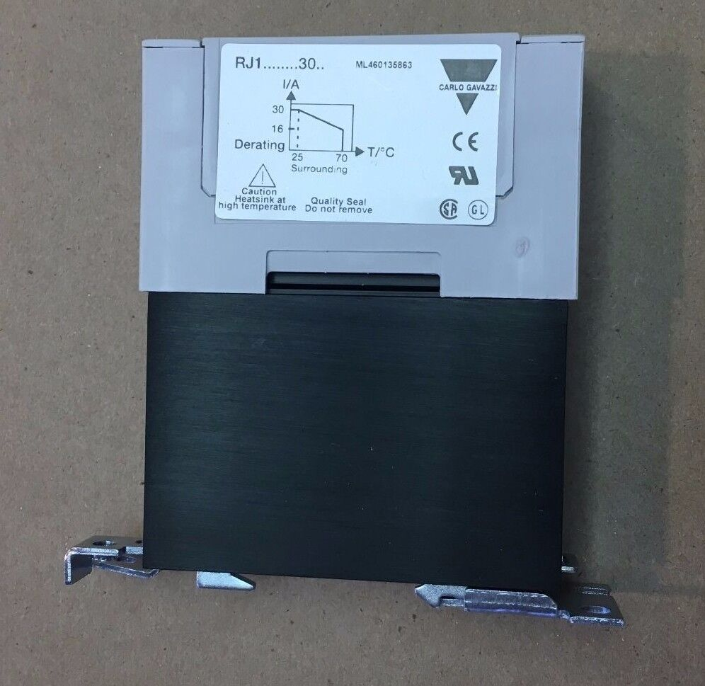 Carlo Gavazzi Rj1a23d30e Solid State Relay Input 4 32vdc Load 230vac 1 Of 4free Shipping 2