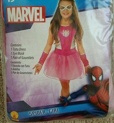 Superhero Tutu Dress Costume Marvel Universe Halloween Fancy Dress Spider-Girl M