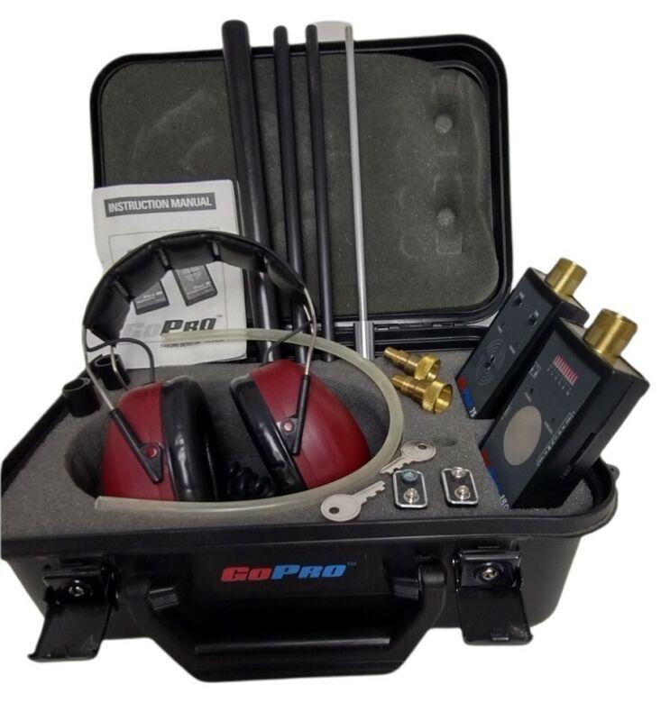 Go Pro Ultrasonic Failure/Detector System Transmitter Peltor Headphones HardCase