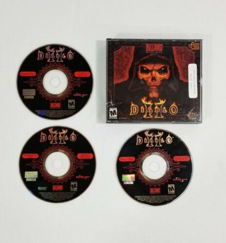 Computer Games - Diablo II 2 Video Game PC Computer Game Windows 2000/98/95/NT CD-ROM Blizzard