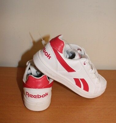 New Reebok Royal Prime athletic shoes for little boys/girls size 11.5 US 17.5 cm - White Shoes For Little Girls