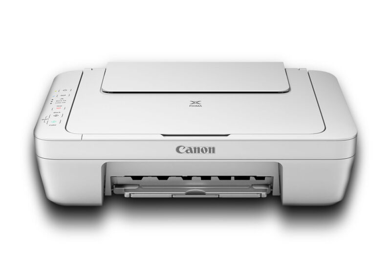 Canon PIXMA All-In-One Inkjet Printer, Copier, & Flatbed Scanner (Includes Ink)