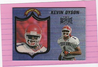 1998 PLAYOFF ABSOLUTE KEVIN DYSON RC (Titans)