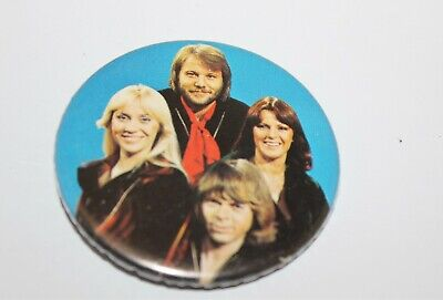 Abba Group Photo Badge Music Collectable (Lot 6)