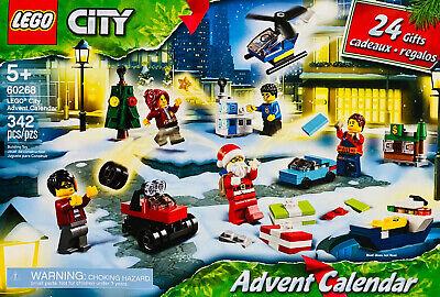 NEW LEGO CITY CHRISTMAS ADVENT 2020 BUILDING SET SANTA CALENDAR 24 GIFTS