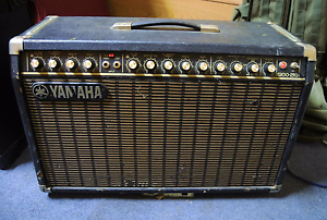 MIJ Yamaha G100 210 guitar amplifier and Yamaha guitar Moruya Eurobodalla Area Preview