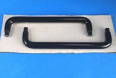 2 Aeroflex Ifr Fmam 1600s Pull Handles Rubber Over Treated Aluminum 160mm