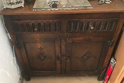 Oak Dresser Base Sideboard
